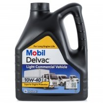 Mobil Delvac Light Commercial Vehicle 10W-40 (4 л.)