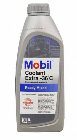 Mobil Coolant Extra Ready Mixed (1 л.)