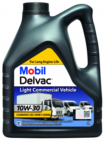 Mobil Delvac Light Commercial Vehicle 10W-30 (4 л.)