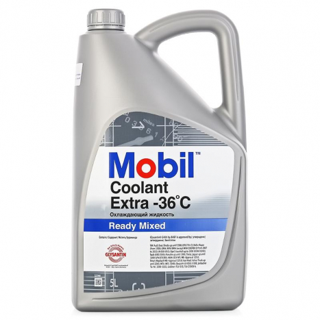Mobil Coolant Extra Ready Mixed (5 л.)